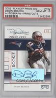 Deion Branch [PSA 10] #1/5