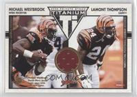 Michael Westbrook, Lamont Thompson /1100