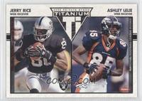 Jerry Rice, Ashley Lelie /275
