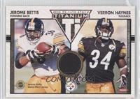 Jerome Bettis, Verron Haynes /1000