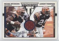 Michael Westbrook, Lamont Thompson /200