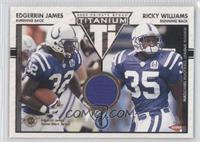 Edgerrin James, Ricky Williams /250