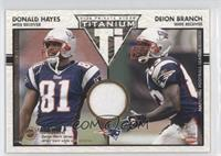 Donald Hayes, Deion Branch /500