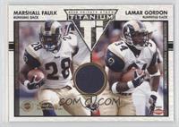 Marshall Faulk, Lamar Gordon /300