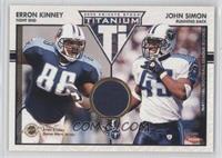 Erron Kinney, John Simon /500