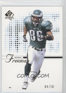 2002 SP Authentic Gold #14 - Antonio Freeman /50