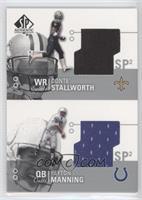 Peyton Manning, Donte Stallworth