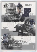 Eric Crouch, Ron Dayne, Ricky Williams /250