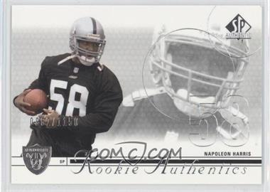 2002 SP Authentic #165 - Napoleon Harris /1150