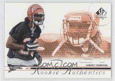 2002 SP Authentic #174 - Lamont Thompson /1150