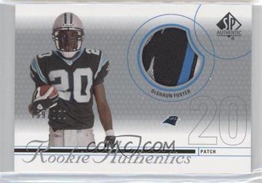 2002 SP Authentic #221 - DeShaun Foster /850