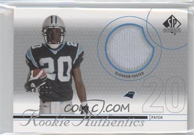 2002 SP Authentic #221 - DeShaun Foster /850