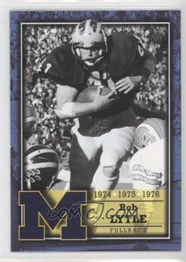 2002 TK Legacy Michigan Wolverines Lettermen #L24 - Rob Lytle