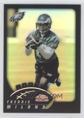 2002 Topps Chrome - [Base] - Black Refractor #202 - Freddie Milons /100