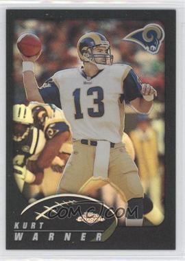 2002 Topps Chrome - [Base] - Black Refractor #50 - Kurt Warner /599
