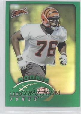 2002 Topps Chrome - [Base] #188 - Levi Jones