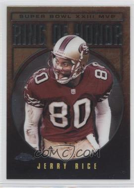 2002 Topps Chrome - Ring of Honor #JR23 - Jerry Rice