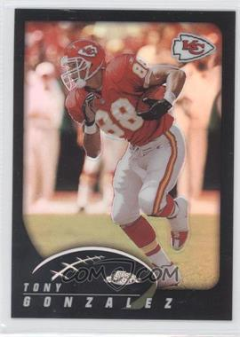 2002 Topps Chrome Black Refractor #113 - Tony Gonzalez /599