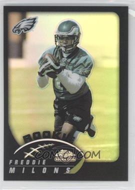 2002 Topps Chrome Black Refractor #202 - Freddie Mitchell /100