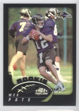 2002 Topps Chrome Black Refractor #252 - [Missing] /100