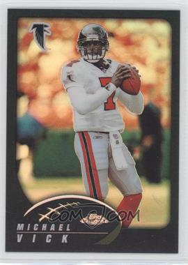 2002 Topps Chrome Black Refractor #32 - Michael Vick /599