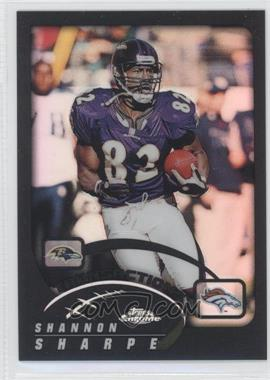 2002 Topps Chrome Black Refractor #54 - Shannon Sharpe /599