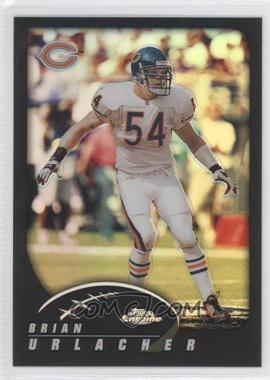 2002 Topps Chrome Black Refractor #57 - Brian Urlacher /599