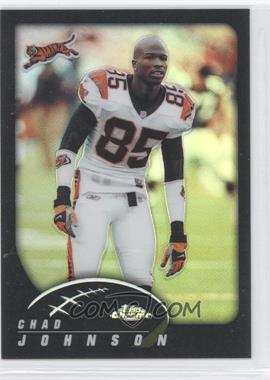 2002 Topps Chrome Black Refractor #58 - Chad Johnson /599