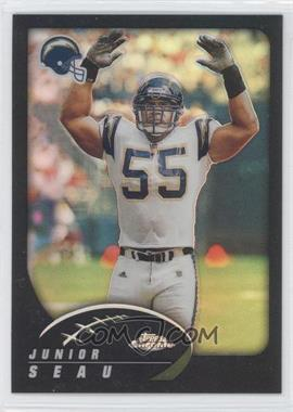 2002 Topps Chrome Black Refractor #74 - Junior Seau /599