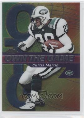 2002 Topps Chrome Own the Game #OG10 - Curtis Martin