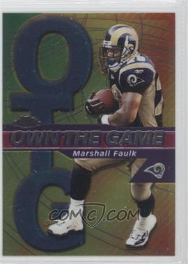 2002 Topps Chrome Own the Game #OG13 - Marshall Faulk
