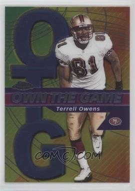2002 Topps Chrome Own the Game #OG19 - Terrell Owens