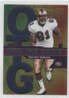 2002 Topps Chrome Own the Game #OG19 - Terrell Owens