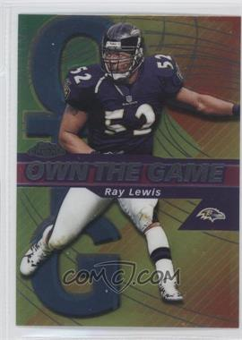 2002 Topps Chrome Own the Game #OG27 - Ray Lewis