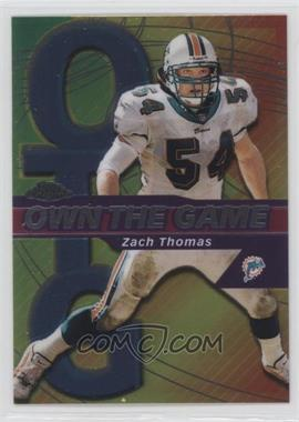 2002 Topps Chrome Own the Game #OG28 - Zach Thomas