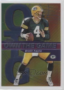 2002 Topps Chrome Own the Game #OG4 - Brett Favre