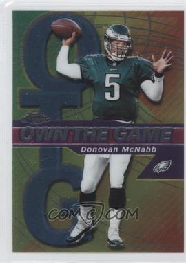 2002 Topps Chrome Own the Game #OG5 - Donovan McNabb