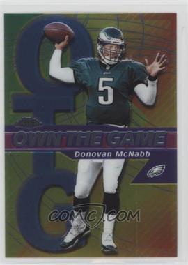 2002 Topps Chrome Own the Game #OG5 - Donovan McNabb