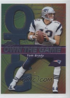 2002 Topps Chrome Own the Game #OG7 - Tom Brady