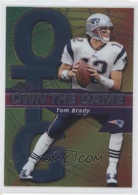 2002 Topps Chrome Own the Game #OG7 - Tom Brady