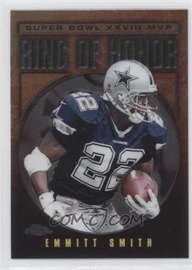 2002 Topps Chrome Ring of Honor #ES28 - Emmitt Smith