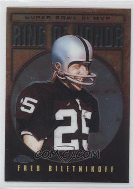 2002 Topps Chrome Ring of Honor #FB11 - Fred Biletnikoff
