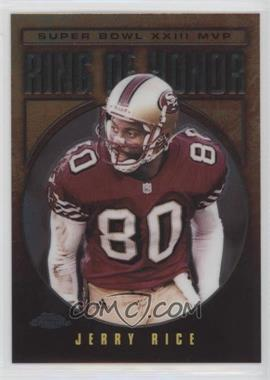 2002 Topps Chrome Ring of Honor #JR23 - Jerry Rice
