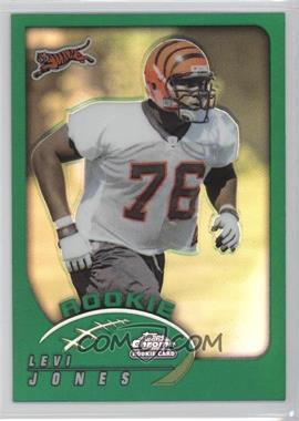 2002 Topps Chrome #188 - Levi Jones