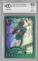 David Garrard [ENCASED]