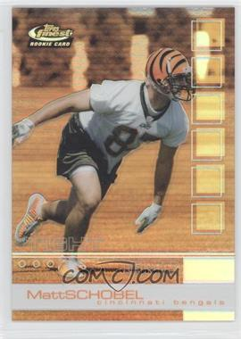 2002 Topps Finest - [Base] - Refractor #108 - Matt Schobel /250