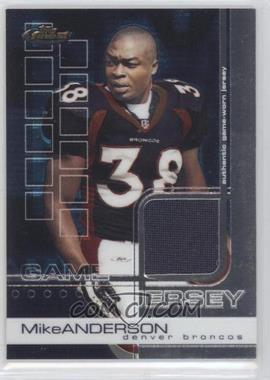 2002 Topps Finest - [Base] #74 - Mike Anderson /999