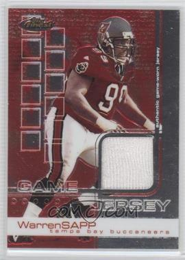 2002 Topps Finest - [Base] #75 - Warren Sapp