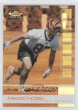 2002 Topps Finest Refractor #108 - Matt Schobel /250