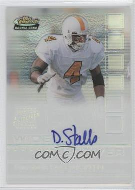 2002 Topps Finest Refractor #117 - Donte Stallworth /175